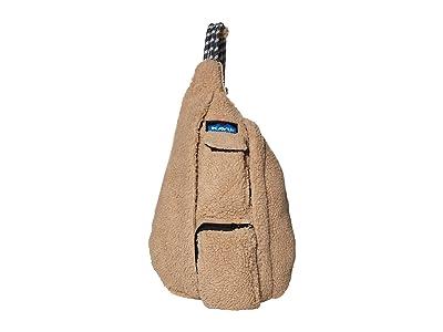 KAVU Mini Rope Fleece (Driftwood) Cross Body Handbags