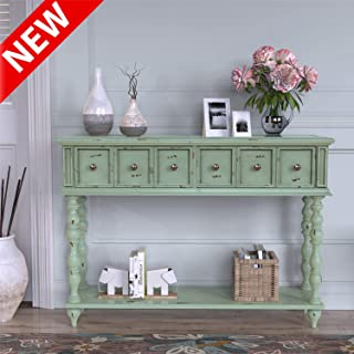DANGRUUT Best Rustic Console Sofa Table, Luxury 48