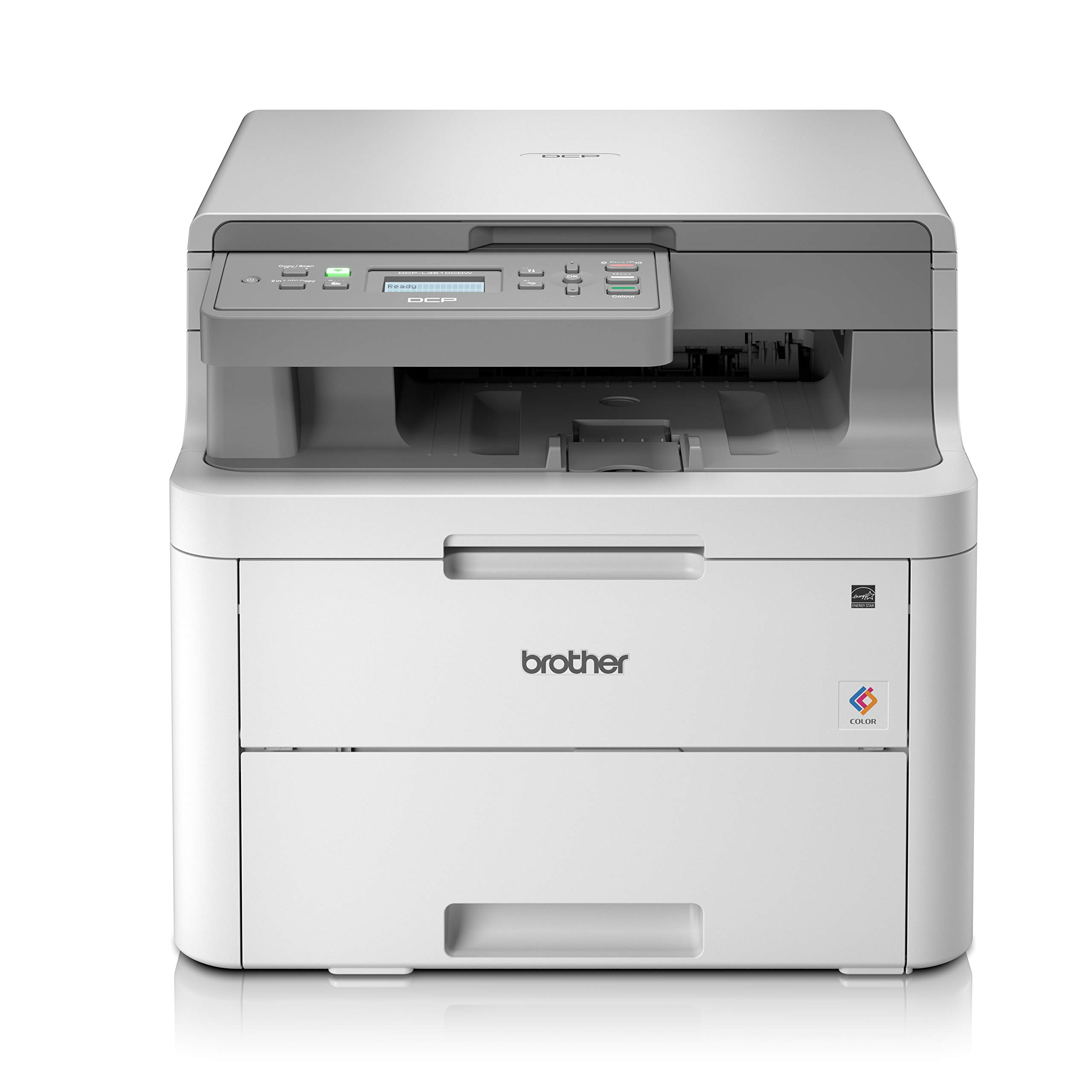 Brother Dcp L3510cdw Colour Laser Printer All In One Wireless Usb 2 0 Printer Scanner Copier 2 Sided Printing A4 Printer Small Office Home Office Printer Amazon Co Uk Computers Accessories
