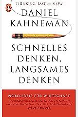 Schnelles Denken, langsames Denken (German Edition) Kindle Edition