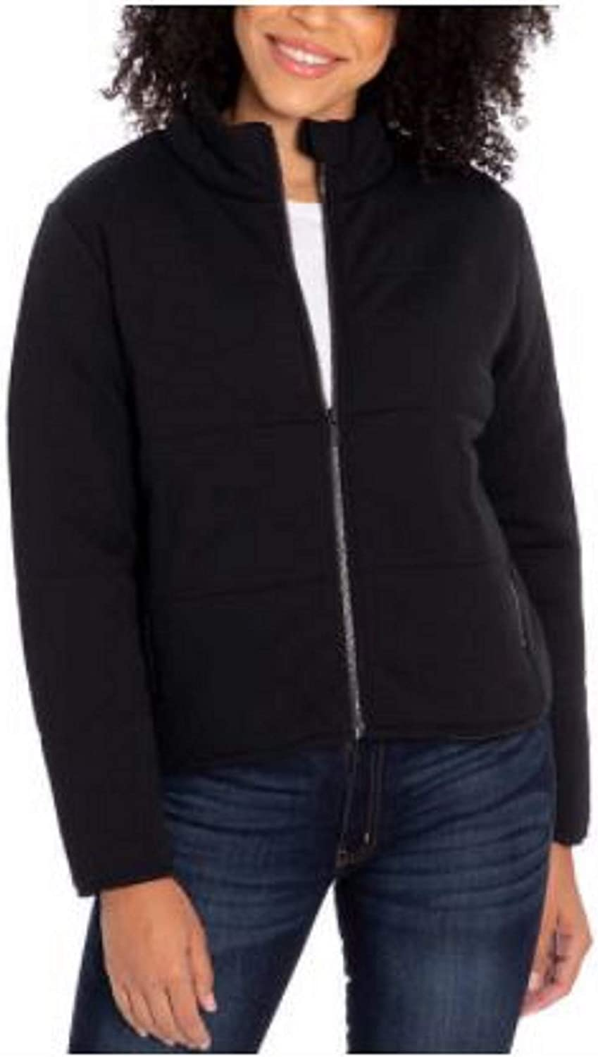 Three Dots Baltimore Mall Ladies' Quilted Max 62% OFF Jacket
