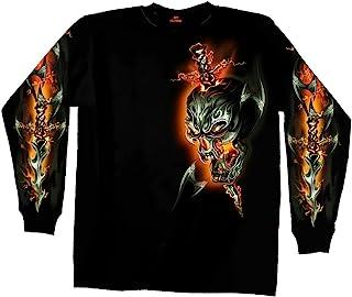 GML1005, BLACK Hot Leathers Unisex-Adult T-Shirt