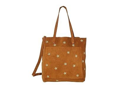 Madewell Medium Transport Tote (Equestrian Brown) Tote Handbags