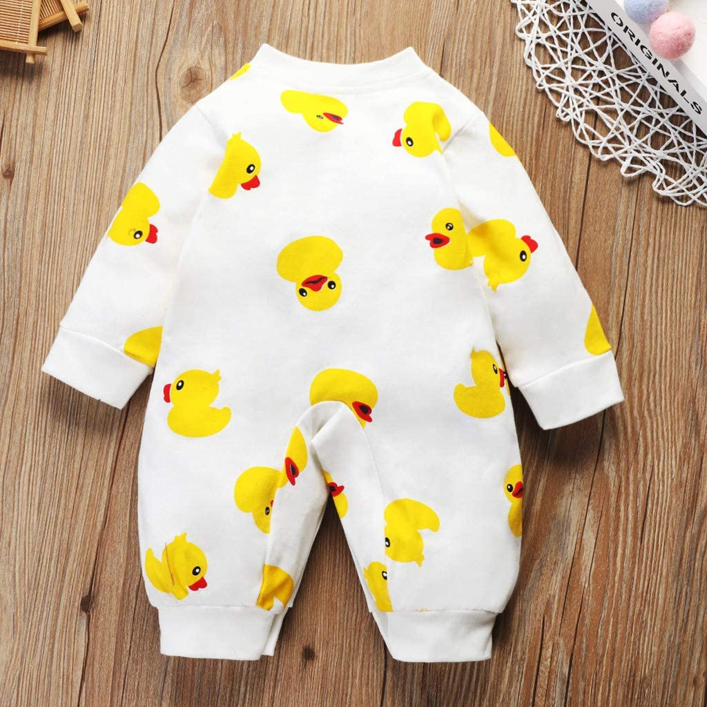 Janly Clearance Sale 0-24 Months Boys Romper Jumpsuit Toddler Newborn Baby Boy Girl Cartoon Romper Bodysuit Jumpsuit Outfit Clothes for St.Patricks Easter Gifts