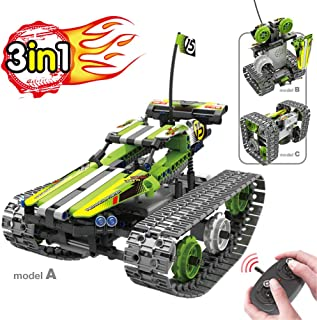 BIRANCO. Remote Control Car for Boys - RC Tracked Racer...