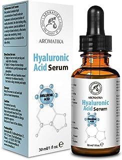 Hyaluronic Acid Skin Serum 30ml - for Face & Skin Care - Glass Bottle - w/Hyaluronic Acid for All Skin Types - Anti Age Serum
