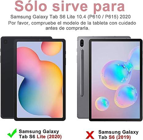 KVAGO Samsung Galaxy Tab s2 9.7 Funda, 7 Colores de luz de Fondo Desmontable Caja del Teclado Bluetooth Funda Protectora PU Plegable para Samsung ...