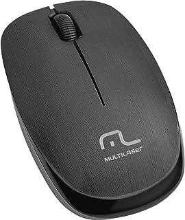 Mouse Sem Fio, Multilaser, 2.4 GHz 1200 Dpi USB , Preto - MO251
