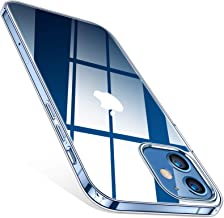 TORRAS Crystal Clear Compatible for iPhone 12 Case, Compatible for iPhone 12 Pro Case 6.1 Inch 5G 2020, Thin Slim Soft TPU Silicone Bumper, Crystal Clear