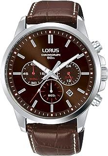 ساعة لوروس سبورت للرجال انالوج بعقارب كوارتز وسوار جلد RT315JX9