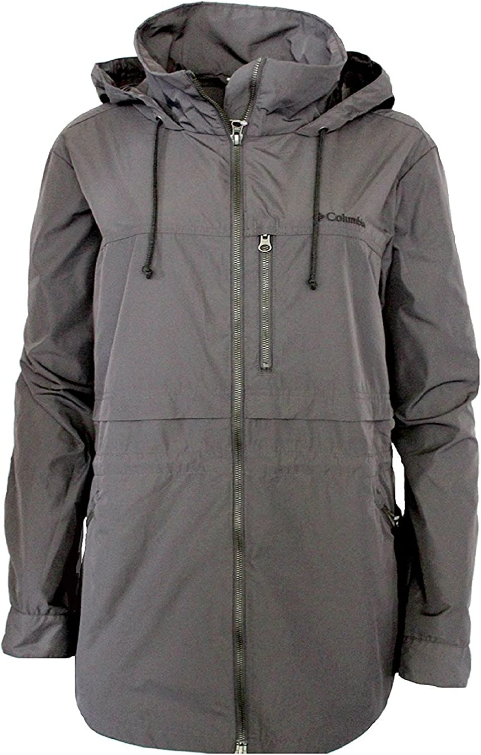 Columbia Women's Plus Base Camp Soft Shell Spring Fall Hooded Jacket