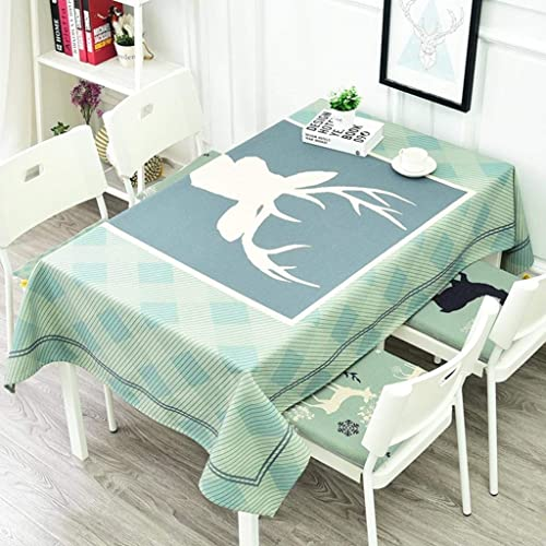 venta al por mayor barato WENYAO WENYAO WENYAO Fluid Systems European styMoose Tabcloth,Oblong tabcloth,Tea tabcloth,Kitchen Tablecloth for Dinner Parties C 85x85cm(33x33inch)  al precio mas bajo