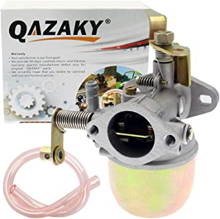 QAZAKY Carburetor Replacement for EZGO Gas Club Car Golf Cart 2-Cycle Stroke Robin Engine Marathon Carb 17563 18342G1 18342-G1 26645-G01 20071G1 20071-G1 26645G01 1981 1982 1983 1984 1985 1986 1987