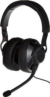 JBL Quantum 300 - Auriculares de diadema con cable para videojuegos, compatible con micrófono, PC y consola, color negro