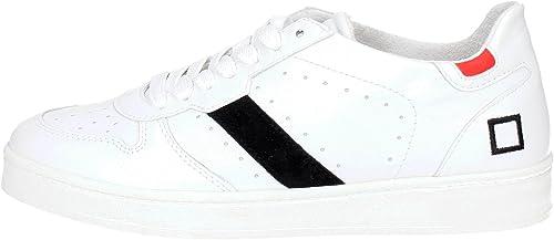 D.A.T.E. - Hausschuhe para Deportes de Exterior para Hombre Weiß Bianco 41