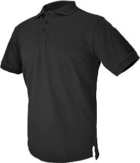 HAZARD 4 Quickdry Undervest Battle Polo Tactical Velcro-Arm-Patch Plain Front Breathable Shirt