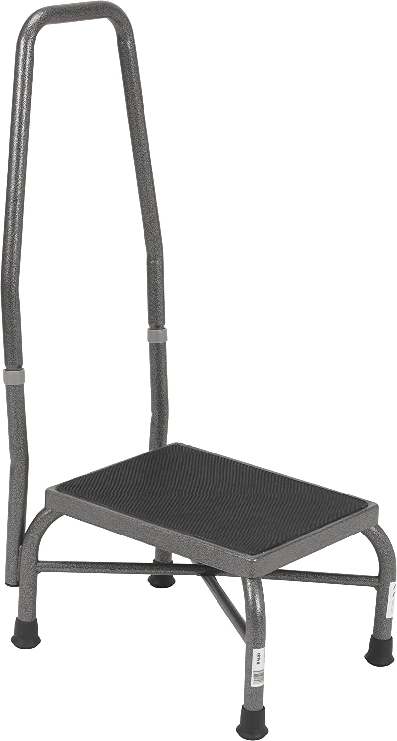 Fort Worth Mall Drive Medical Heavy Duty Bariatric Handrail with and New popularity N Footstool