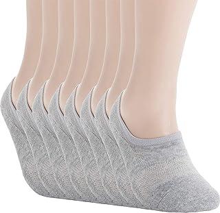 Pro Mountain No Show Socks - Athletic Cushion Cotton Sport Footies For Women Men