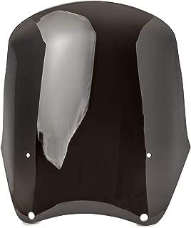 Replacement Smoke Windscreen for Tall Fairing Windshield Club Style Kit for Harley-Davidson Dyna, Super Glide T-Sport FXDXT, FXR (PN# JBM-6009-C/JBM-6009-S)