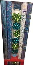 PEACOCK ~ Shimmering Blues & Greens Gift Wrap Ensemble