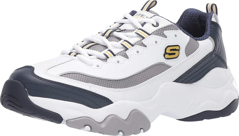 アウトレット Skechers Sport D'Lites 3.0-Merriton 新品未使用正規品 Men's Sneaker US D M 9 Whit
