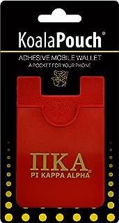 Pi Kappa Alpha - Koala Pouch - Adhesive cell phone wallet