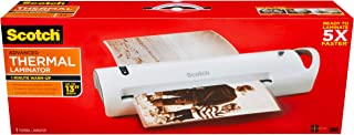Scotch Advanced Thermal Laminator, Extra Wide 13-Inch Input, 1-Minute Warm-up (TL1302VP)