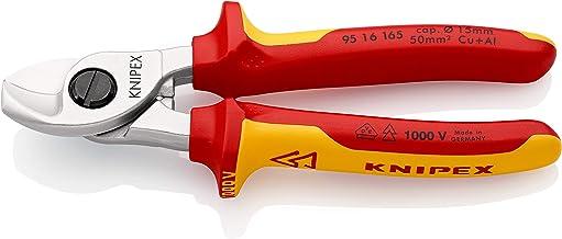 KNIPEX Kabelsax 1000V isolerad (165 mm) 95 16 165 SB (SB-kort/blister)