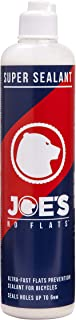 JOE'S NO FLATS Joe's Super Sealant for Bicycle Tires. Ultra-Fast Sealing for Tubeless, Tubular and Inner Tubes | for Holes up to 0.25 Inches | Ready to Use Effective Puncture Seal