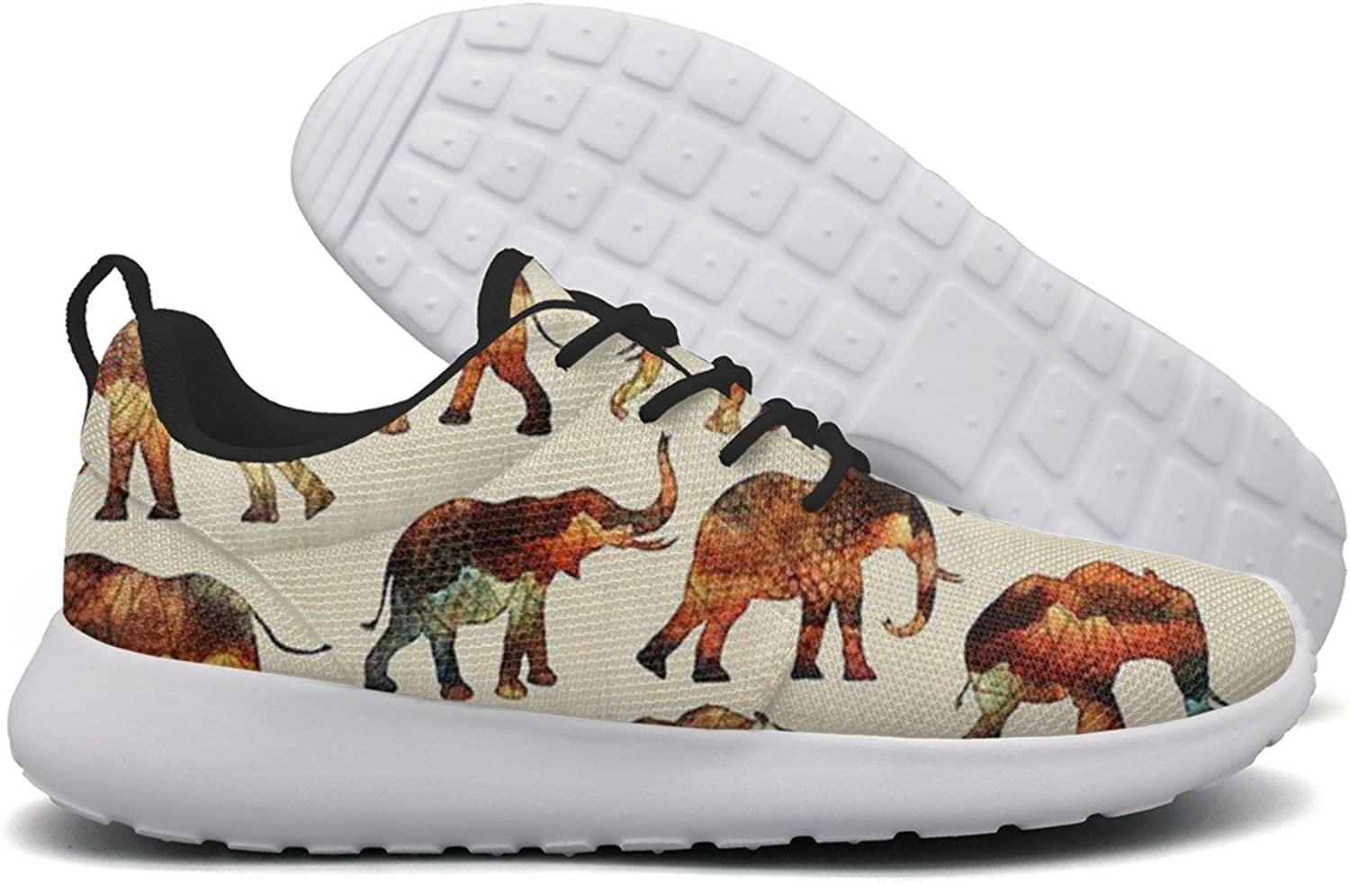 colorful Fossil Vintage Elephants Women New Casual Running shoes Jogger Mini