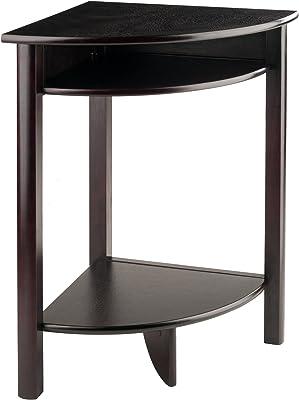 Winsome 92720 LISO Corner Desk Espresso