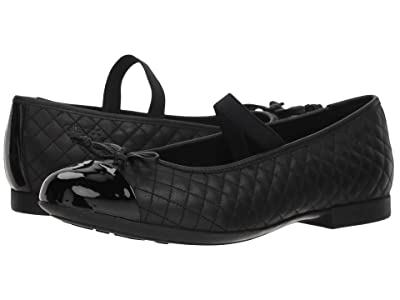 Geox Kids Plie 49 (Big Kid) (Black) Girl