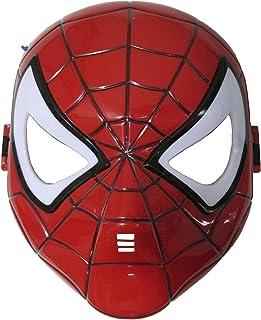 Morningsilkwig spiderman masker Comics Kostuum Superheld Eye Mask Marvel Spiderman Hero Kids ' SpiderMan Gloeiend masker