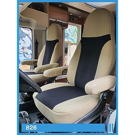 Rau Universal Sitzbezuge Schonbezüge Aus 100 Frottee Farbe Elefant Für Pilotsitze Und Wohnmobile Auto