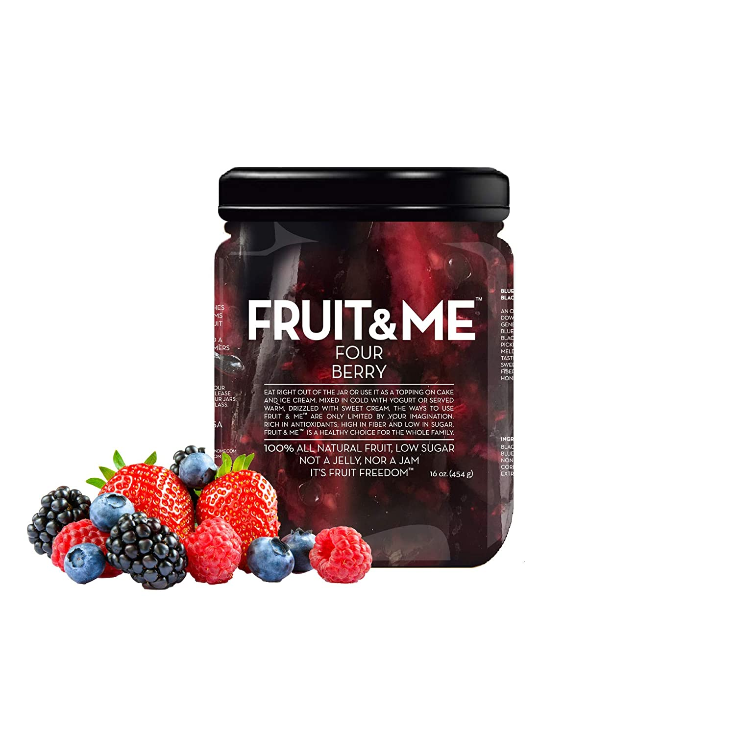 FRUIT ME FOUR BERRY Strawberries Blackberries Max 72% OFF Blueberries Year-end gift