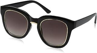 نظارات شمسية مربعة سوداء للنساء من فوستر غرانت 8 Bg.4
