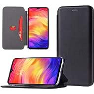 Xiaomi Redmi Note 7 / Redmi Note 7 Pro Case, Soft TPU&PU Leather Flip Case with...
