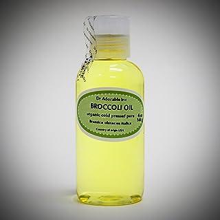 Broccoli Seed Oil Cold Pressed Pure & Organic 4 oz