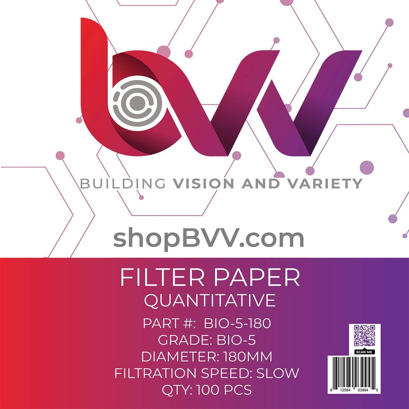 BVV Baltimore Outlet ☆ Free Shipping Mall Ashless Filter Papers - Millimeter Qualitative 180 Grade