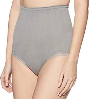 Fabme Women's High Waist Seamless Slimming Panties 360 Tummy Tucker Panty Free Size