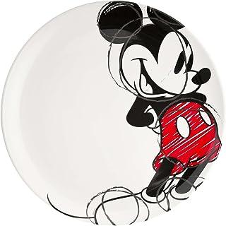 Zak! Designs Platón Llano con gráficos, Mickey Mouse, Mickey Mouse, 1