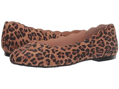 French Sole Jigsaw (Leopard Suede) Women