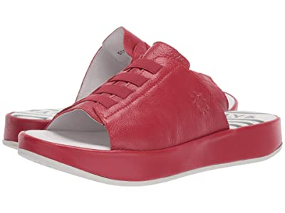 FLY LONDON BOPE981FLY (Lipstick Red Mousse) Women