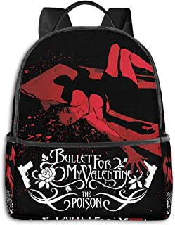 Bullet-for-My-Valentine Laptop Backpack Fashion Theme School Backpack