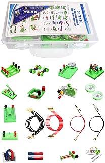 DETEKER STEM Physics Science Lab Circuit Learning Starter Kit Electricity and Magnetism Experiment for Kids Junior Senior ...