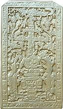 History Aztec Mayan sarcophagus of king K'inich Janaab' Pakal wall plaque art 8.5