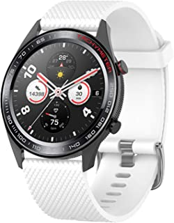 ieLive Compatible Huawei Watch GT Band, Silicone Replacement Band Wristband Strap for Huawei Magic/Watch GT/Ticwatch Pro Bracelet