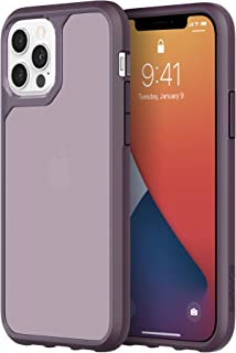 Survivor Strong Case Compatible with iPhone 12 & iPhone 12 Pro (Purple)