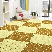 Guorrui Puzzelmat van schuimrubber, vloermat 1,2 cm dik, tapijt voor kinderkamer, antislip, kan naar wens worden gesneden,...