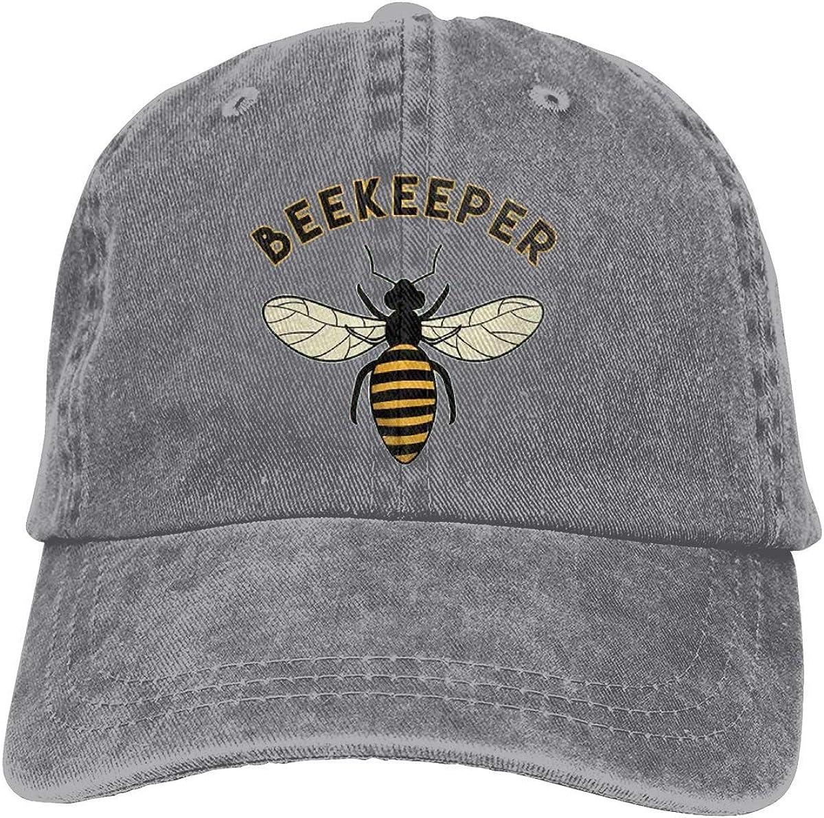 Beekeeper Baseball Cap, Adjustable Size Dad Hat, Vintage Baseball Hats for Men Woman